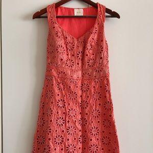 Anthropologie sleeveless dress Size 0